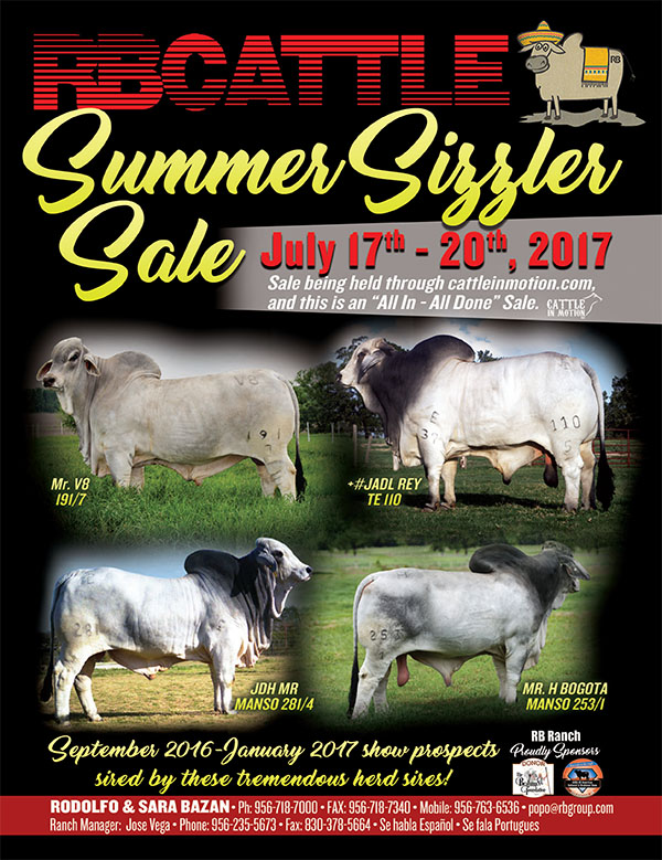 """RB Ranch """"Summer Sizzler"""" Sale 